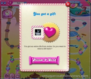 candy crush extra life
