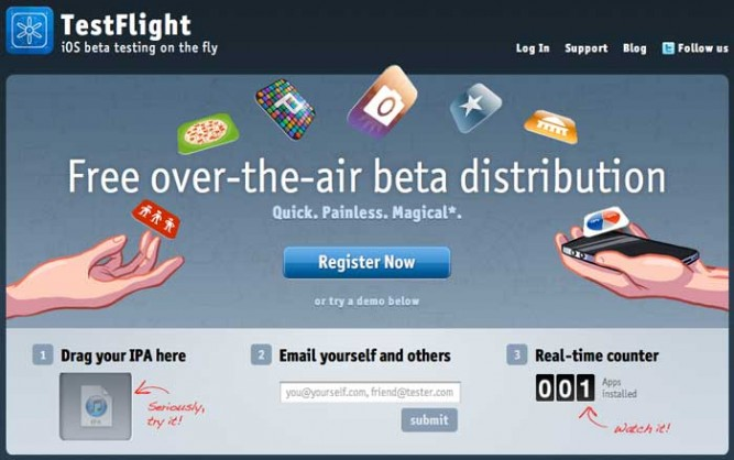 testflight-ios-app-beta-distribution-free-drag-ipa-register-website-software-development-tech-icon-image