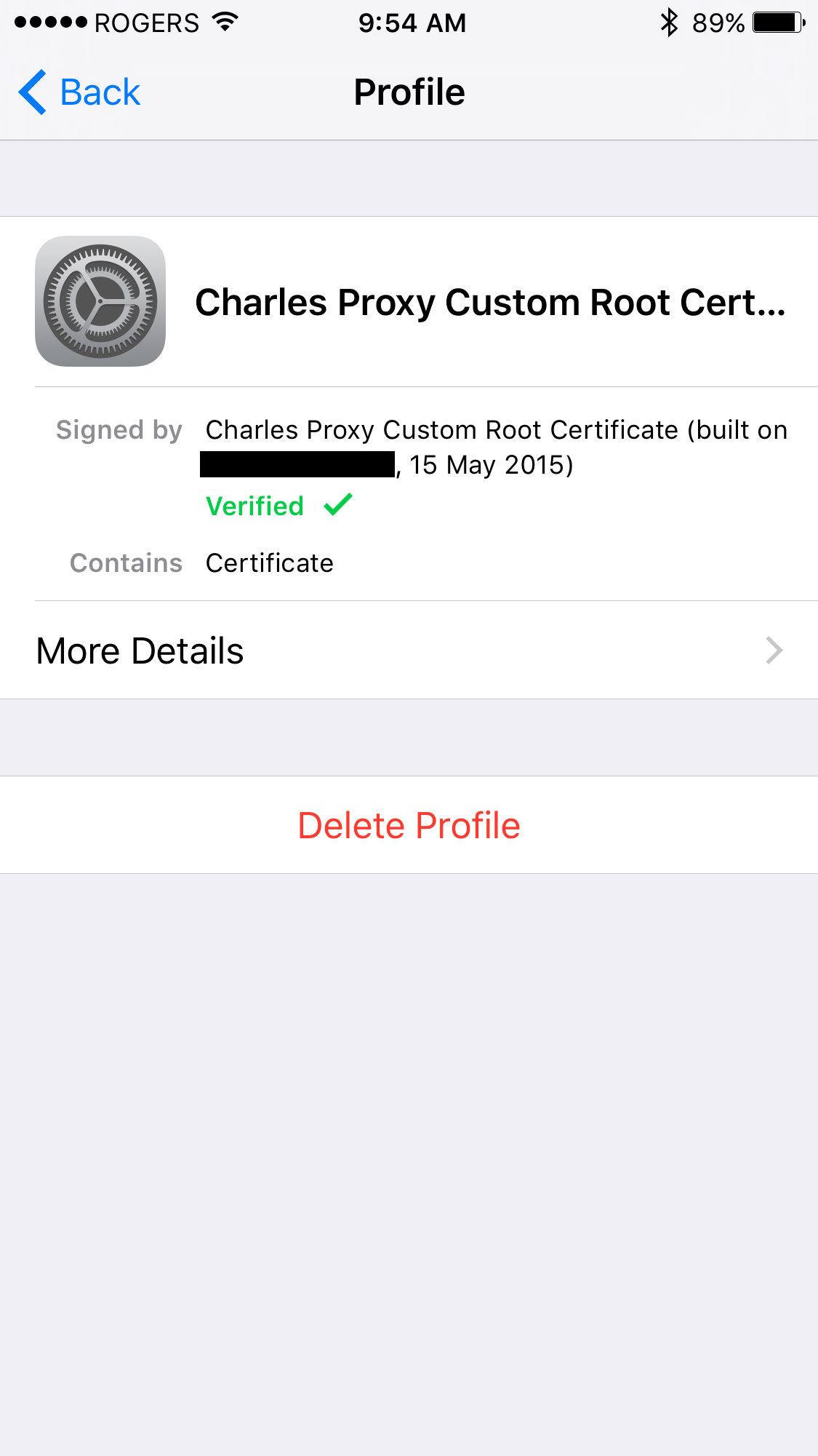 Testing SSL using Charles Proxy on iOS Devices